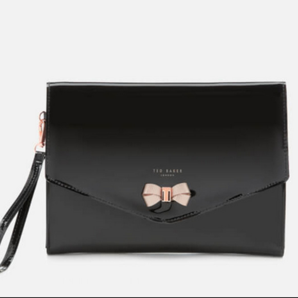 de6ef62a4 Ted Baker Women s Luanne Bow Envelope Pouch - NEW